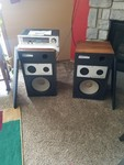 SnS Auctions # 363 Vintage receiver & speakers