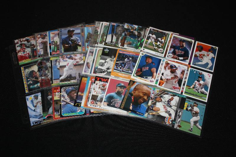 Lot Of 99 Different Kirby Puckett Baseball Cards Pop Culture