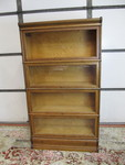 Antique MACEY Quartersawn Oak Sectional Bookcase w/Drawer