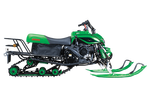2017 Irbis T150 Snowmobile (Green, New in Box)