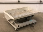 Industrial Rolling & Dumping Sifter Trough / Hopper