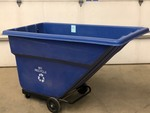 Global Rolling Recycling Dumpster / Cart
