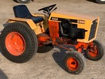 "Case ""444"" Garden Tractor With Mower Deck & Plow"