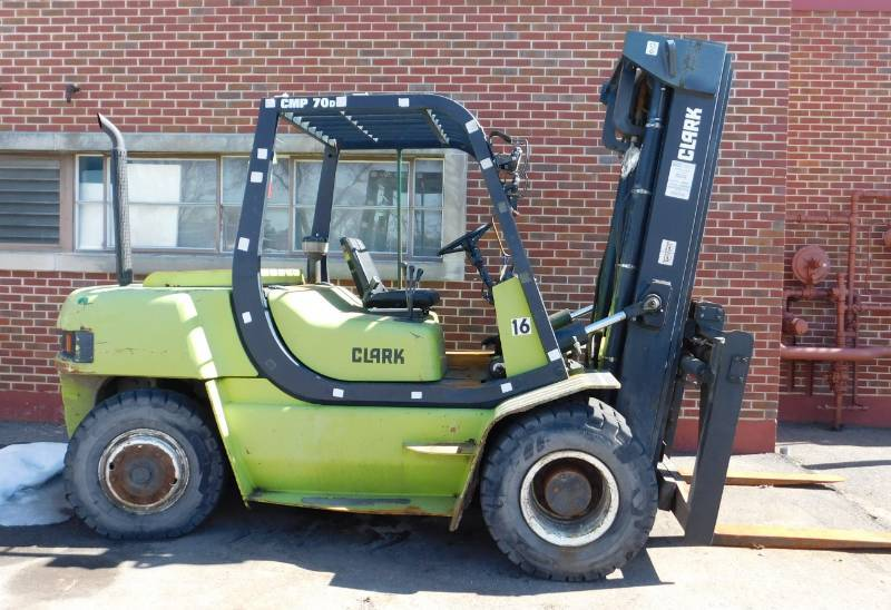 2004 Clark CMP70 Forklift | JB Equipment - April #2 | K-BID