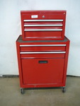 5 Drawer Tool Box on Casters