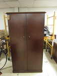 WOOD OFFICE CABINET