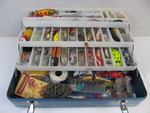 Vintage OLD PAL Tackle Box FULL of Vintage Fishing Lures & Tackle