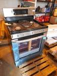 New - Scratch & Dent LG - 5.4 Cu. Ft. Freestanding Gas Range - Stainless steel