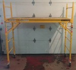 6' x6' Metal Tech Rolling Scaffolding in new condition