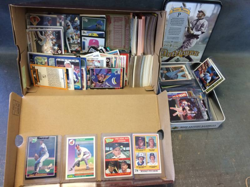 Vintage Baseball Card Collection 1950s 2000s W Mickey