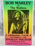 "Bob Marley Concert Poster on Heavy Stock 14"" x 22"""