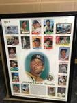 Framed Topps Mickey Mantle Card Poster 4,051/10,000