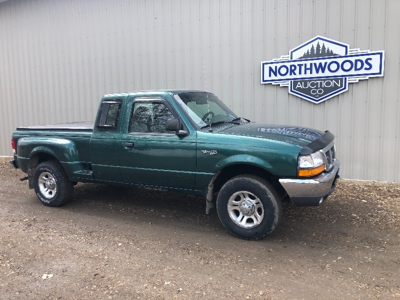 2000 Ford Ranger 4x4 No Reserve 116 New Car Franchise Trade