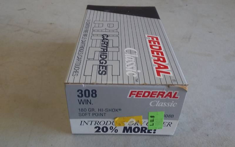 Federal 308 Winchester 24 Count | Ammo, Electric Guitars