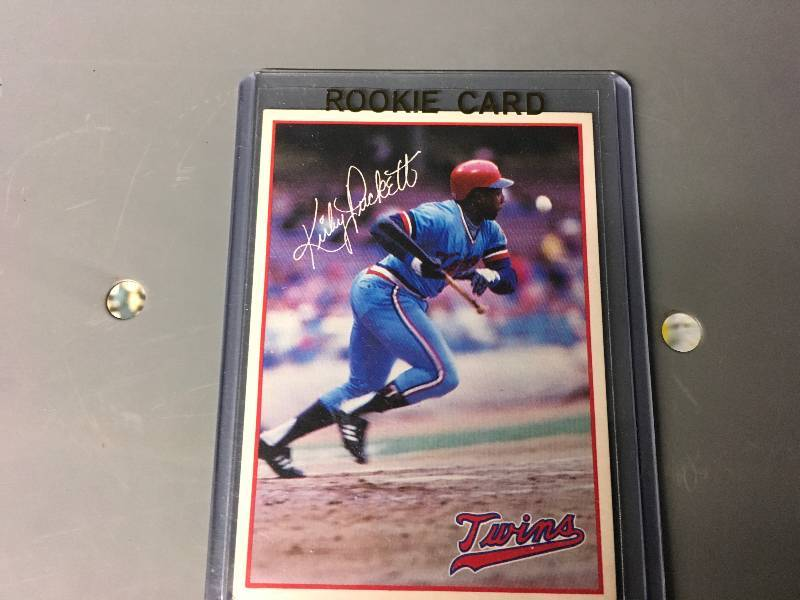 Rare Kirby Puckett 7 11 Rookie Card May Sports Collectible