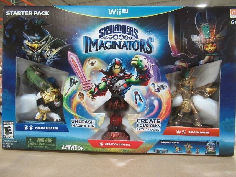 1 Unopened Case of Six ActiVision Skylanders Imaginators Collectors
