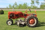 Allis Chalmers Tractor with Belly Mower