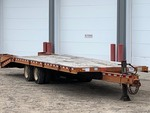 "2000 ""Trail"" Tandem Axle 30ft Equipment Trailer---33,000#"