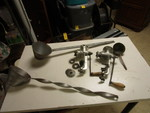 KEYSTONE AND UNIVERSAL MEAT GRINDERS AND LADLES