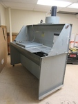 DUALDRAW, PORTABLE, DOWNDRAFT BOOTH DUST SYSTEM