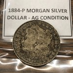 1884-P Morgan Dollar