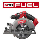 Milwaukee M18 FUEL 18-Volt Lithium-Ion Brushless Cordless 6-1/2 in. Circular Saw (Tool-Only) in good condition