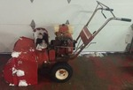 7hp Wheel Horse SnowBlower, tested as-working