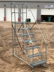 Cotterman Industrial Rolling Stairs / Ladder