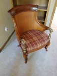 Ethan Allen Woven Arm Chair