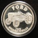 1 TROY OZ. .999 FINE SILVER FORD 1953 GOLDEN JUBILEE TRACTOR IN AIRTITE