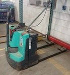 2009 Herc U Lift Electric Pallet Jack, tested as working, includes batteries and charger