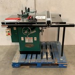 "Grizzly 10"" Left-Tilt Cabinet Table Saw"