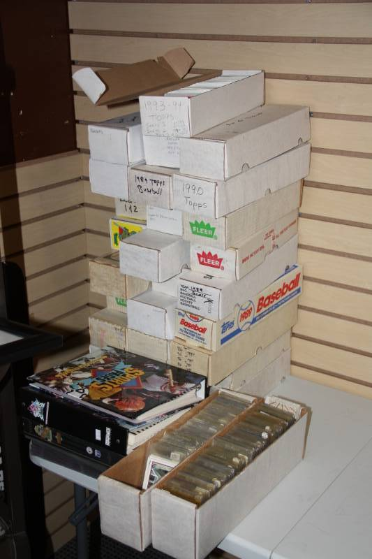 Mixed Baseball Cards Lot 18000 Cards Pop Culture Archives