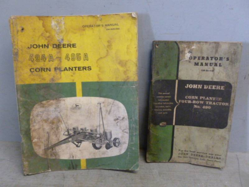 Vintage John Deere Manuals Richmond