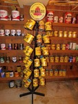 Vintage Brand New Cans Of Pennzoil Oil and Stand