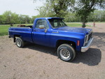 1980 Chevy C20 Custom-Deluxe 4X4 Pickup