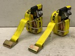 (2) New 27ft Ratchet Straps      3,333# Working Load Each