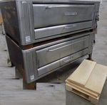 Double Deck Blodgett 1060 Pizza oven