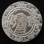 1/2 TROY OZ. .999 FINE SILVER PHARAOH