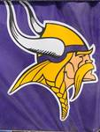 Brand New 3 in 1 Minnesota Vikings Seat, Poncho, Pad