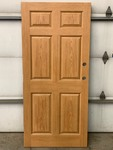 Pallet Of (15) Six-Panel Commercial Wood Doors