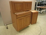THREE PIECE CABINET SET