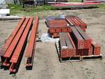 I-Beam Heavy Duty Double Sided Cantilever Racks 15' Long