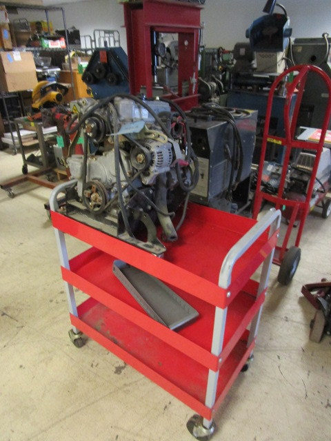DAIHATSU ENGINE AND TRANSPORT CART | ABI 510 BLOOMINGTON