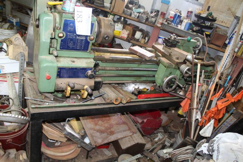 1985 Jet 12in  Swing 36in  Center Lathe | Plymouth Machine