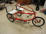 GADABOUT FUN ROVER SIDE-BY-SIDE TANDEM TRICYCLE
