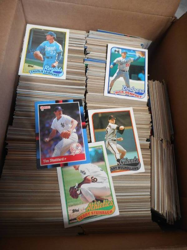 Baseball Cards We Sell Your Stuff Inc Auction 106 K Bid