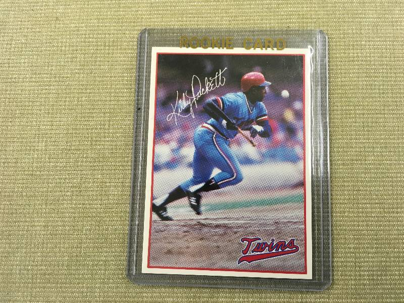 Rare 7 Eleven Kirby Puckett Rookie Card August Sports