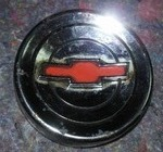 Original Chevy Bow Tie Chrome Circle.