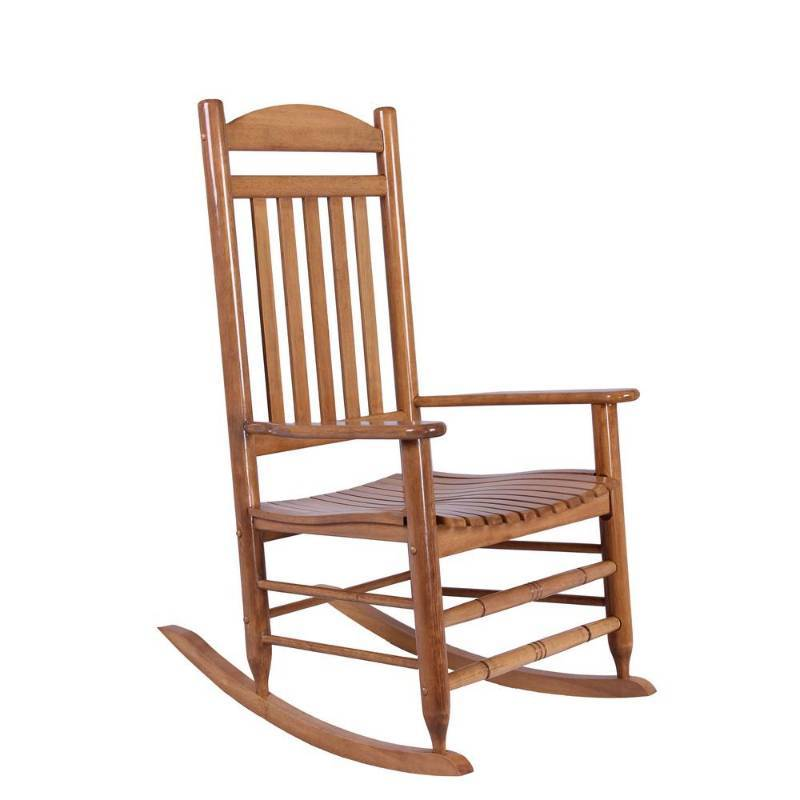 Cool Hampton Bay Natural Wood Rocking Chair Patio Furniture Caraccident5 Cool Chair Designs And Ideas Caraccident5Info